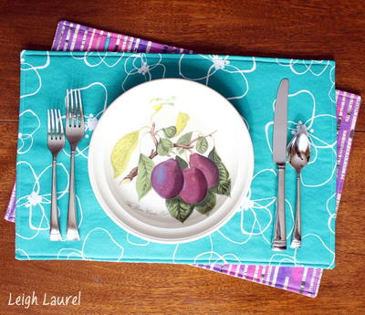 Rad Reversible Placemat Patterns