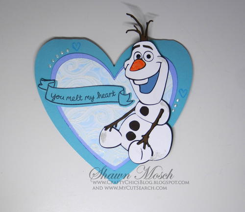 You Melt My Heart Olaf Card