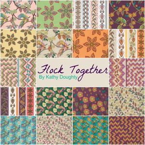 Flock Together Fabric Collection