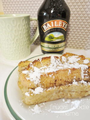 Irish Coffee French Toast Casserole