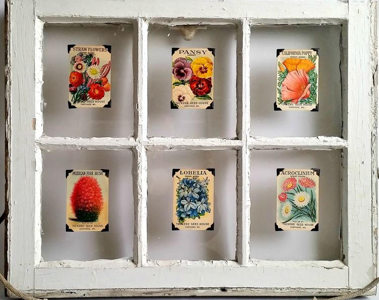 Bj S Cake Decoration Packet : Seed Packet Vintage Decoration AllFreeHolidayCrafts.com