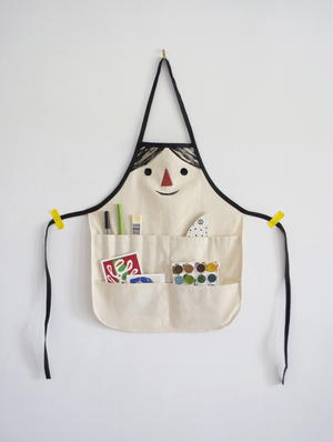 Funny Face Apron Tutorial