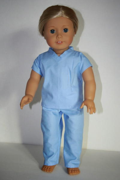 Scrubs Doll Clothes Patterns
