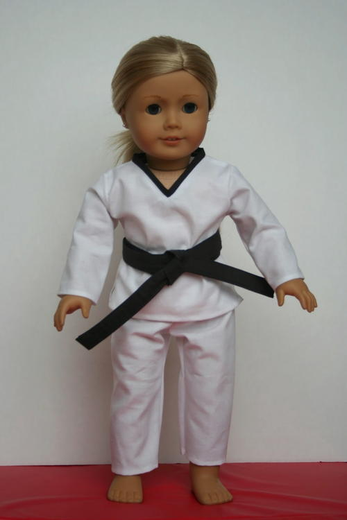 Karate Doll Clothes Pattern