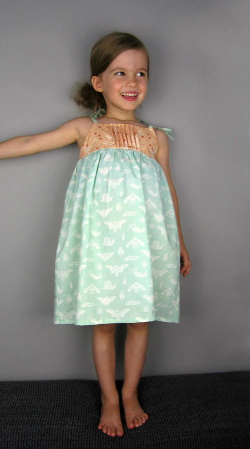 English Garden Girls Dress