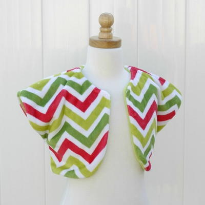 Girls' Bolero Free Sewing Pattern