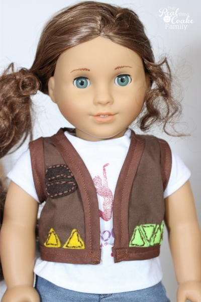 Scouts Honor Doll Clothes Pattern