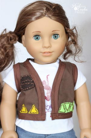 Scout's Honor Doll Clothes Pattern