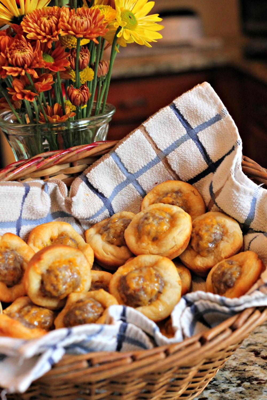 Sausage Biscuit Bites Recipelion Com