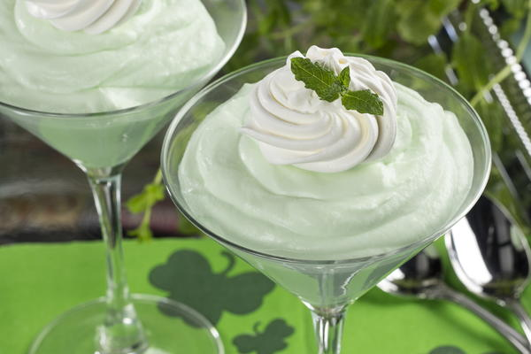 Minty Green Mousse