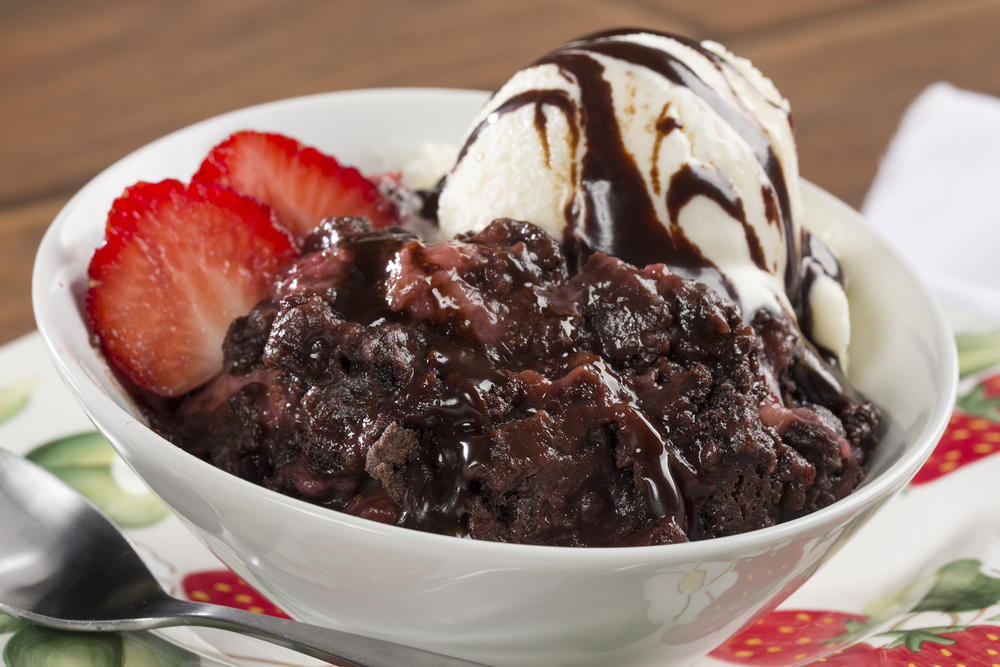 Strawberry Chocolate Dump Cake Mrfood Com