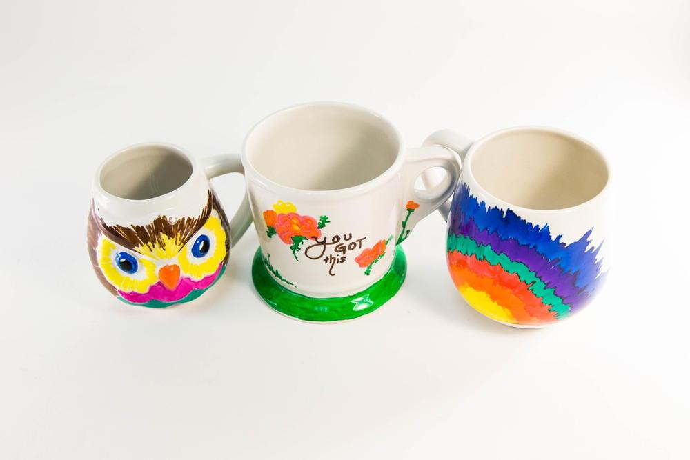 Happy Homemade Mugs
