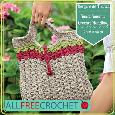 Sweet Summer Crochet Handbag Crochet Along