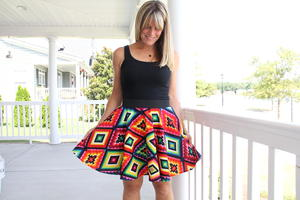Good Vibrations Circle Skirt Pattern