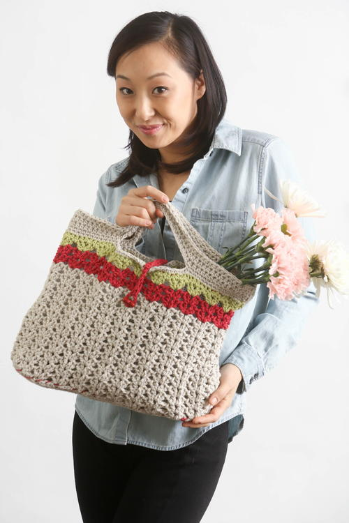 Sweet Summer Crochet Handbag