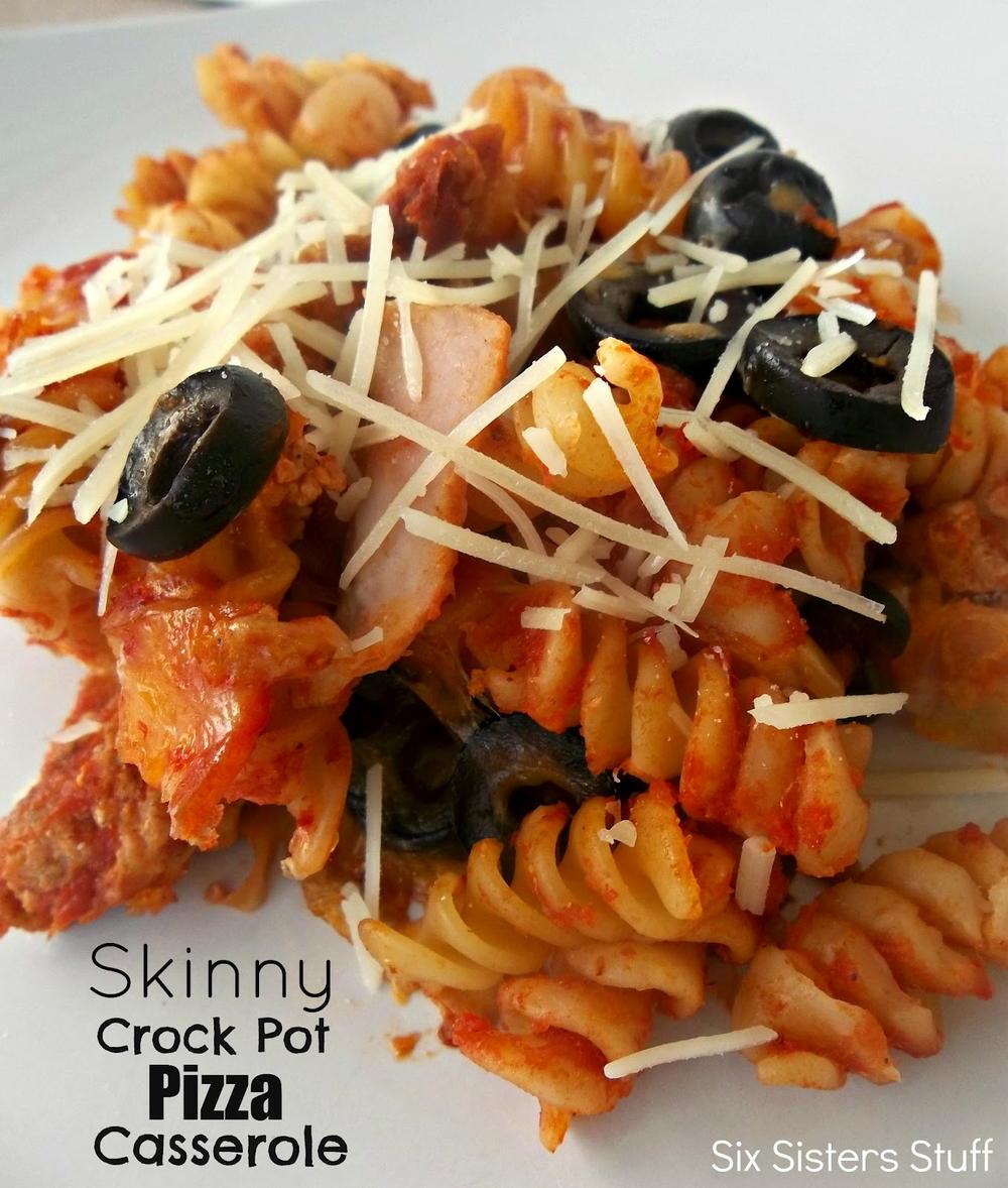Skinny Pizza Pasta Casserole Favehealthyrecipes Com