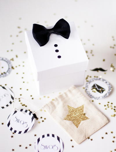 Oscars Party Favor Boxes