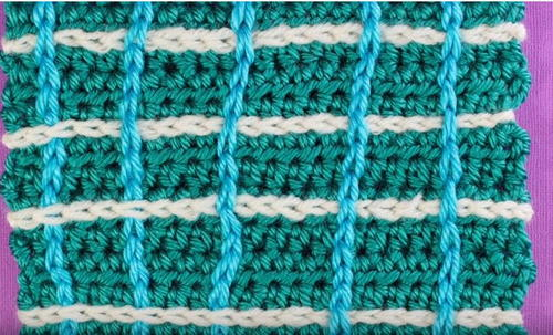 How to Crochet Surface Stitches