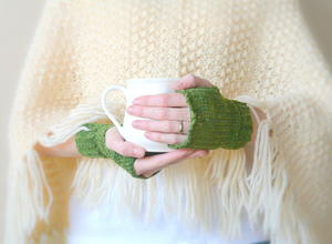 Prairie Winds Crochet Fingerless Mitts
