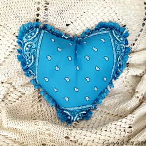 Cowboy Love No-Sew Pillow