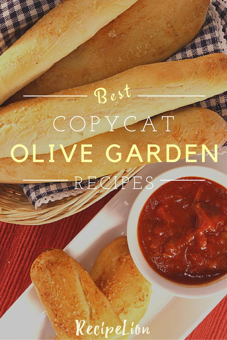 16 Favorite Olive Garden Copycat Recipes