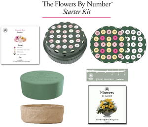 Flowers By Number Starter Kit