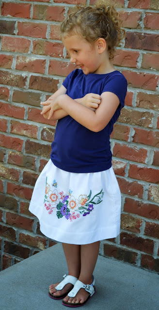 Old-Fashioned DIY Skirt