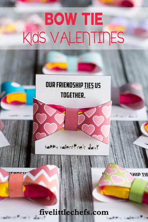 Bow Tie Valentine for Kids