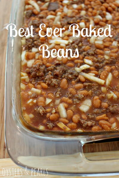 Lalas Best Ever Baked Beans