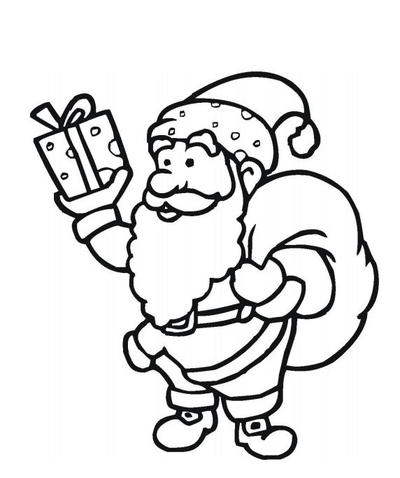Santa Claus Free Coloring Pages Allfreechristmascrafts Com
