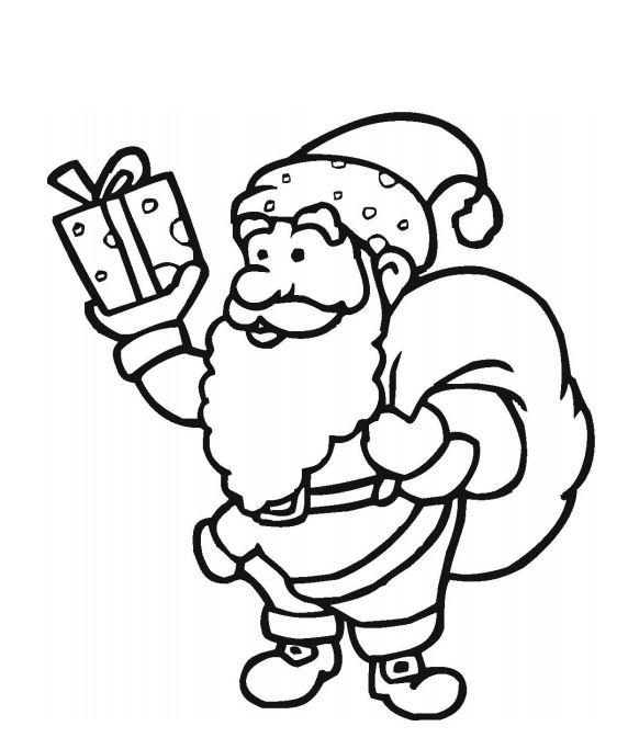 Santa Claus Free Coloring Pages | AllFreeChristmasCrafts.com