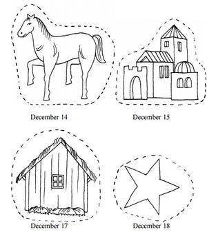 photo relating to Printable Nativity identify Printable Nativity Introduction Chain