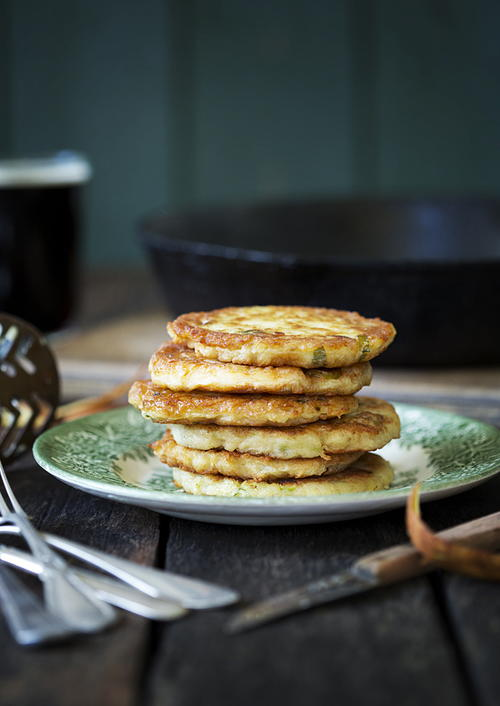 Gluten-Free Irish Potato Pancakes