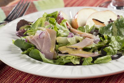 Ham and Apple Salad