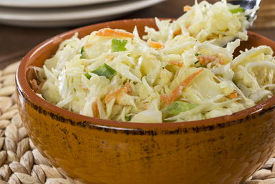 Cabbage and Potato Slaw