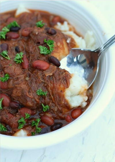 Slow Cooker Shepherds Pie Chili