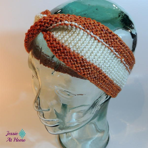 Mobius Knitted Ear Warmers