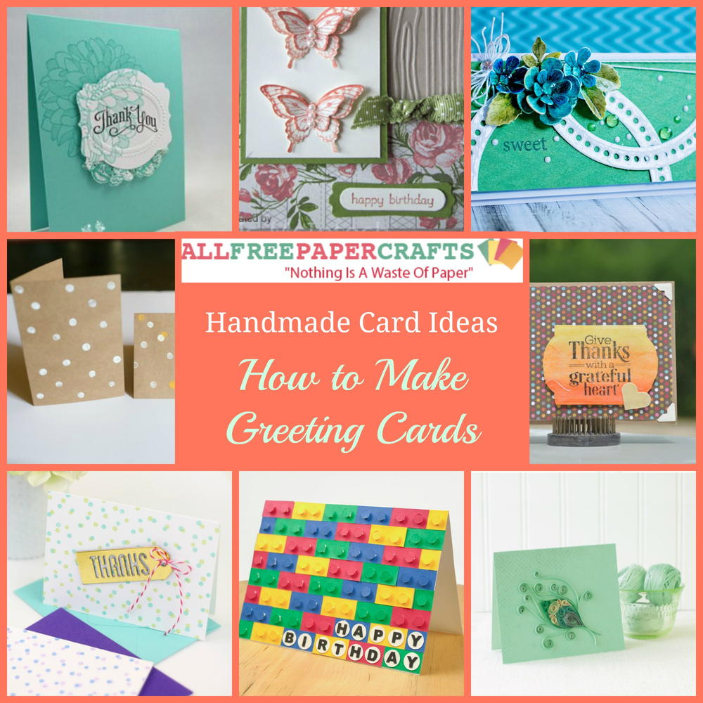 35+ Handmade Card Ideas: How to Make Greeting Cards ...