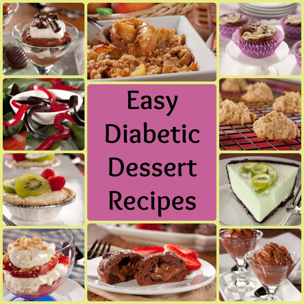 32 Easy Diabetic Dessert Recipes