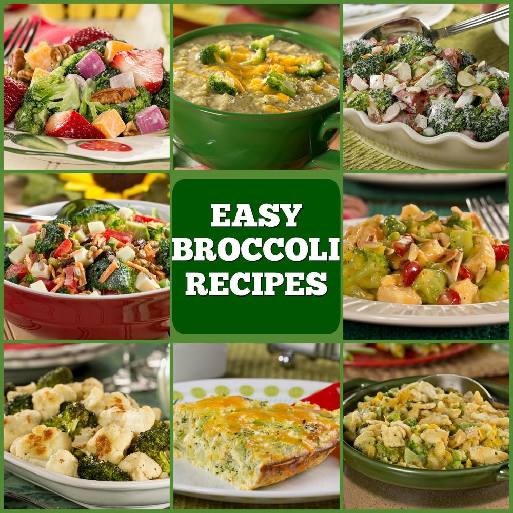 broccoli recipes easy healthy vegetables