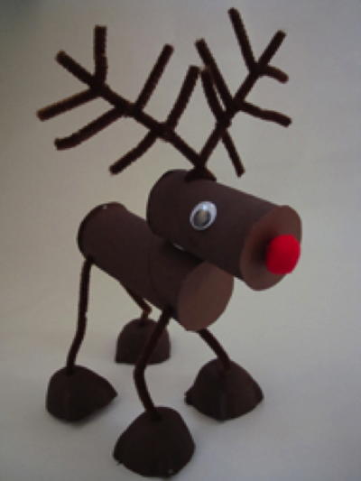 Posable Reindeer