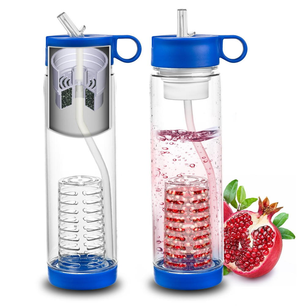 fruit appetizers water bottle fruit infuser