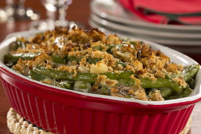 Guiltless Green Bean Casserole