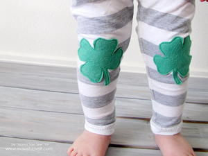 Little Leprechaun Baby Pants Pattern