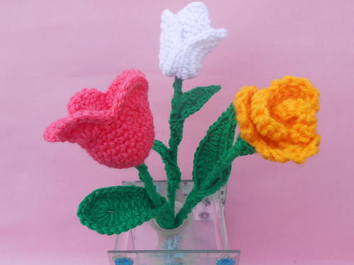 Tulip Crochet Flower Patterns