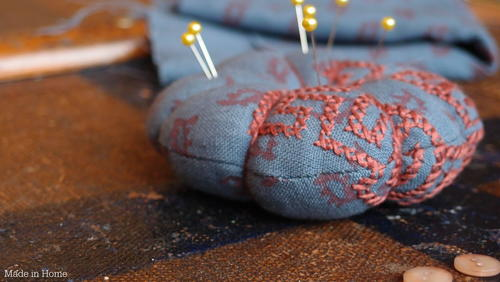 Monday Afternoon Pincushion Pattern