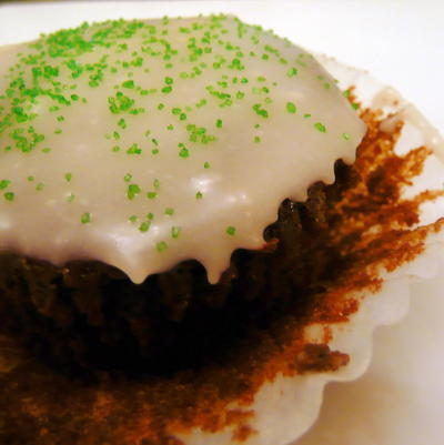 Guinness Cupcakes with Baileys Icing