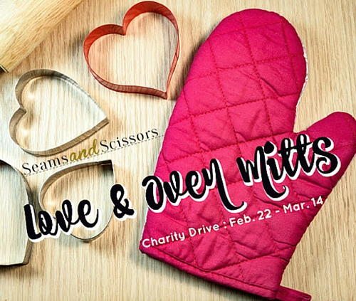 Love and Oven Mitts Charity Drive
