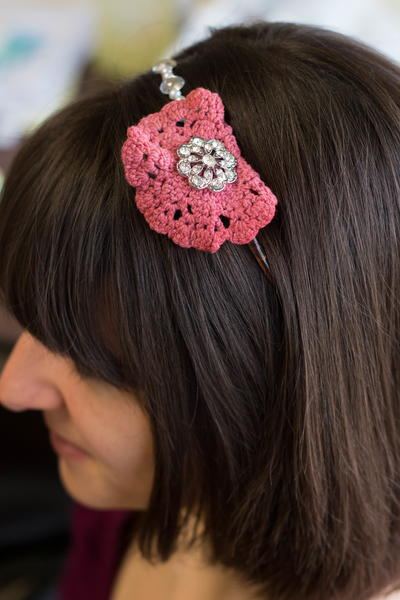 Blinged-Out DIY Headband