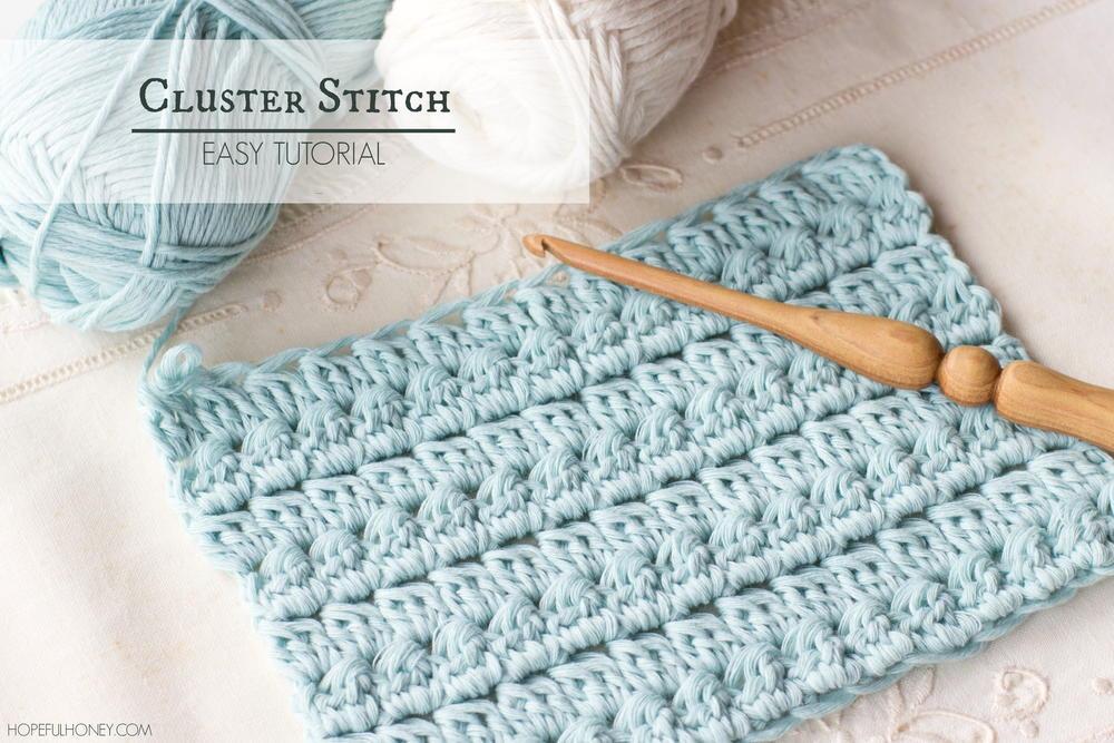 How To Crochet The Cluster Stitch Allfreecrochet Com
